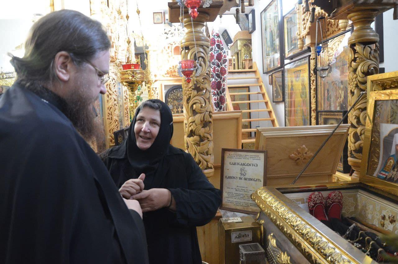 Архиепископ Черкасский и Каневский Феодосий посетил Свято-Троицкий Чигиринский женский монастырь