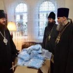 Черкаська єпархія забезпечила свої монастирі і храми 15 тисячами медичних масок