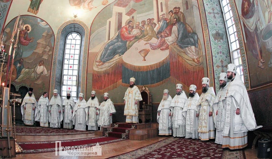 Архиерейское служение в праздник Обрезания Господня в кафедральном Михайловском соборе