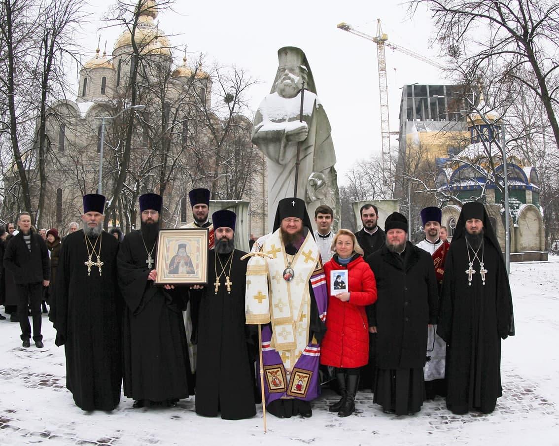 Архиепископ Феодосий поклонился памяти святителя Луки (Войно-Ясенецкого) по случаю 95-летия его посещения Черкасс в архиерейском сане