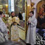 Архиепископ Черкасский и Каневский Феодосий совершил Литургию в день памяти преподобного Серафима Саровского