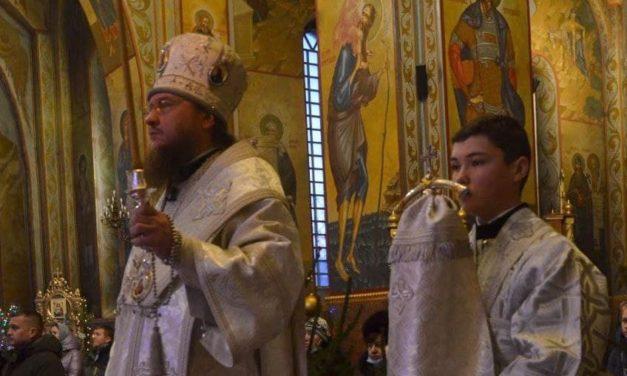 Архієпископ  Феодосій звершив всенічне бдіння напередодні неділі 32-ї після П'ятидесятниці