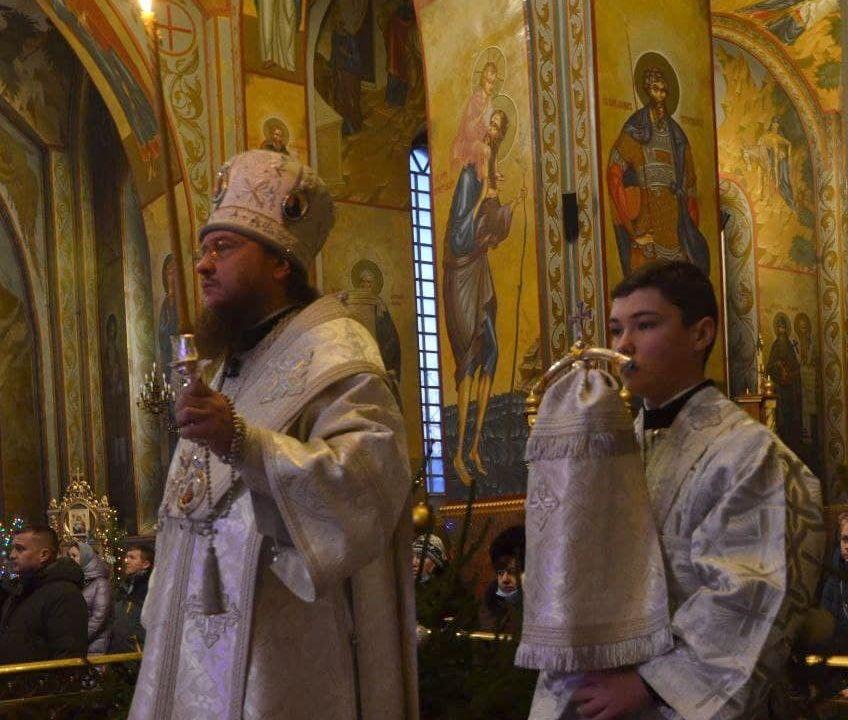 Архиепископ Феодосий совершил всенощное бдение накануне Недели 32-й по Пятидесятнице