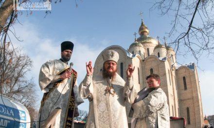 На свято Богоявлення архієпископ Феодосій звершив чин Великого освячення води