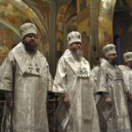 Соборне богослужіння у кафедральному соборі Черкас напередодні Неділі 34-ї після П'ятидесятниці