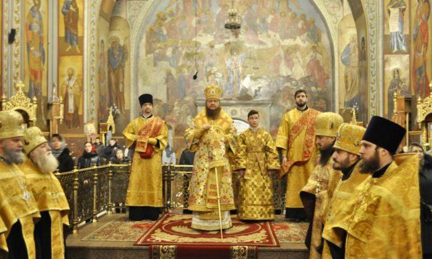 Архієпископ Феодосій звершив всенічне бдіння напередодні неділі 35-ї після П'ятидесятниці