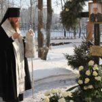 Архієпископ Черкаський і Канівський Феодосій очолив панахиду за спочилим митрополитом Софронієм у день його народження
