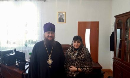 Архиепископ Феодосий встретился с директором Черкасского кооперативного экономико-правового колледжа