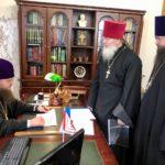 Архієпископ Феодосій благословив проекти нового будівництва та благоустрою храмів