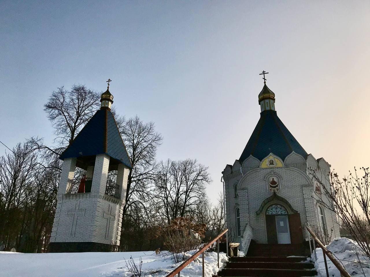 Архиепископ Черкасский и Каневский Феодосий совершил Литургию в храме с.Ковтуны