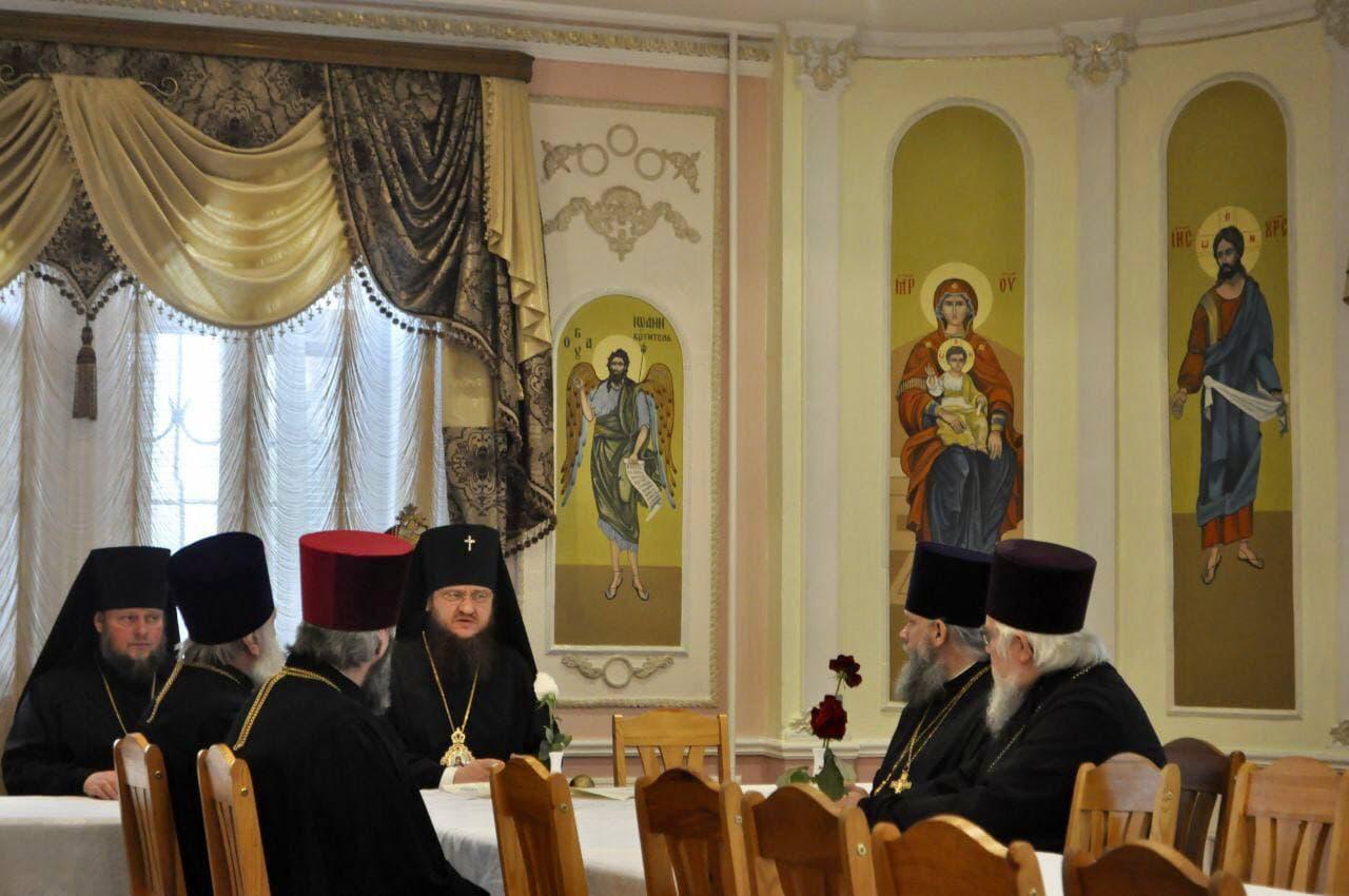 В Черкасской епархии под председательством викарного епископа учрежден Пенсионно-попечительский Совет епархии
