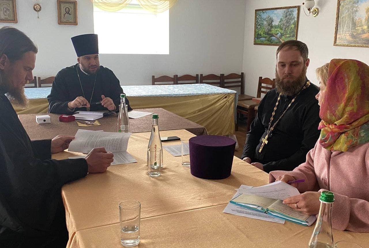 Відбулося засідання Місіонерсько-просвітницького відділу Черкаської єпархії
