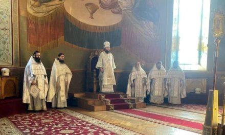 Архієпископ Феодосій звершив Літургію в м'ясопусну батьківську суботу