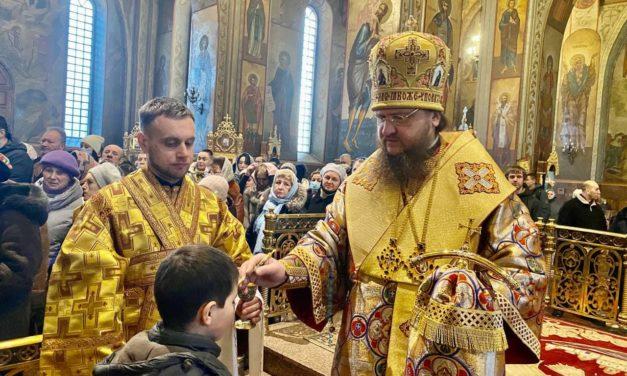 Архиепископ Феодосий совершил всенощное бдение накануне Недели сыропустной