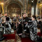 Архієпископ Феодосій звершив вечірню з чином прощення
