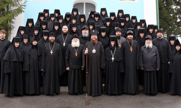 Архиепископ Феодосий совершил Божественную литургию Преждеосвященных Даров в Красногорском Свято-Покровском монастыре