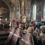 Архієпископ Феодосій звершив всенічне бдіння напередодні неділі 1-ї Великого посту