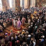 У Неділю Торжества Православ'я архієпископ Феодосій очолив Божественну літургію у кафедральному Михайло-Архангельському соборі