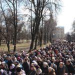 У черкаській Хресній ході в Неділю Торжества Православ'я взяли участь близько 5000 вірян