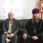 Архієпископ Феодосій зустрівся з головою Черкаської обласної організації національної спілки краєзнавців України