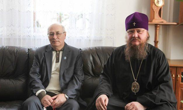 Архиепископ Феодосий встретился с главой Черкасской областной организации Национального союза краеведов Украины