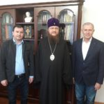 Архієпископ Феодосій зустрівся з керівництвом Черкаського державного бізнес-коледжу