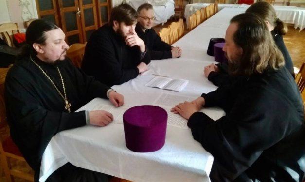 Состоялось заседание Богословско-литургической комиссии Черкасской епархии