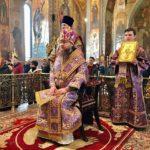 Архієпископ Черкаський і Канівський Феодосій звершив Літургію в Неділю 3-ю Великого посту
