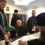 Архієпископ Феодосій благословив проект реставрації розпису храму монастиря Різдва Богородиці в Черкасах