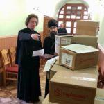 Черкаська єпархія благодійно передала медикаменти в усі лікарні Черкас і храми єпархії