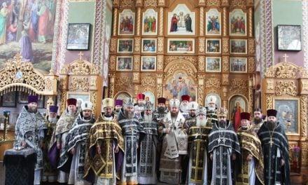 Состоялись общая исповедь и соборная Литургия духовенства Чигиринского и Каменского благочинных округов Черкасской епархии