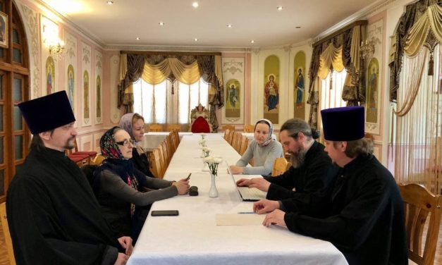 Состоялось совещание Отдела по церковной благотворительности и социальному служению Черкасской епархии