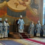 Архієпископ Черкаський і Канівський Феодосій звершив Літургію в день свята Похвали Пресвятої Богородиці