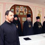 У Черкаській єпархії проведено ставленицький іспит для кандидата на рукоположення у дияконський сан