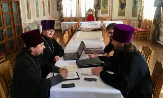 Відбулося засідання Богословсько-літургічної комісії Черкаської єпархії