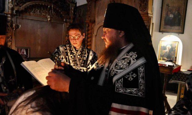 Архієпископ Феодосій звершив постриг у Велику схиму в Свято-Троїцькому Чигиринському монастирі
