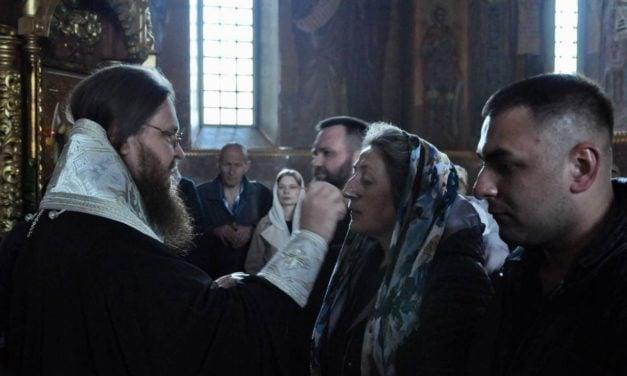 Архиепископ Феодосий совершил таинство Елеосвящения в кафедральном соборе Черкасс