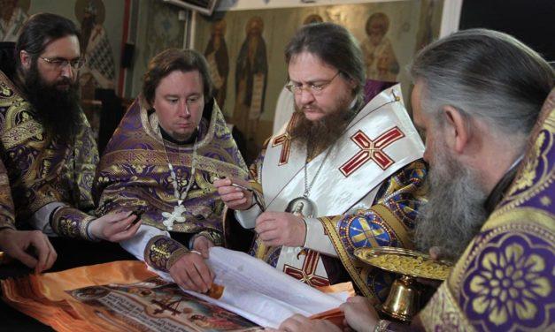 Архієпископ Черкаський і Канівський Феодосій звершив освячення Антимінсів для Черкаської єпархії