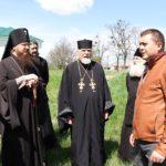 Архієпископ Черкаський і Канівський Феодосій оглянув місце будівництва нового храму
