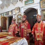 У день пам'яті ікони Божої Матері «Живоносне Джерело» у Красногірському жіночому монастирі відбулася соборна архієрейська Літургія