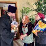 Черкаська єпархія привітала дітей війни з Днем Перемоги