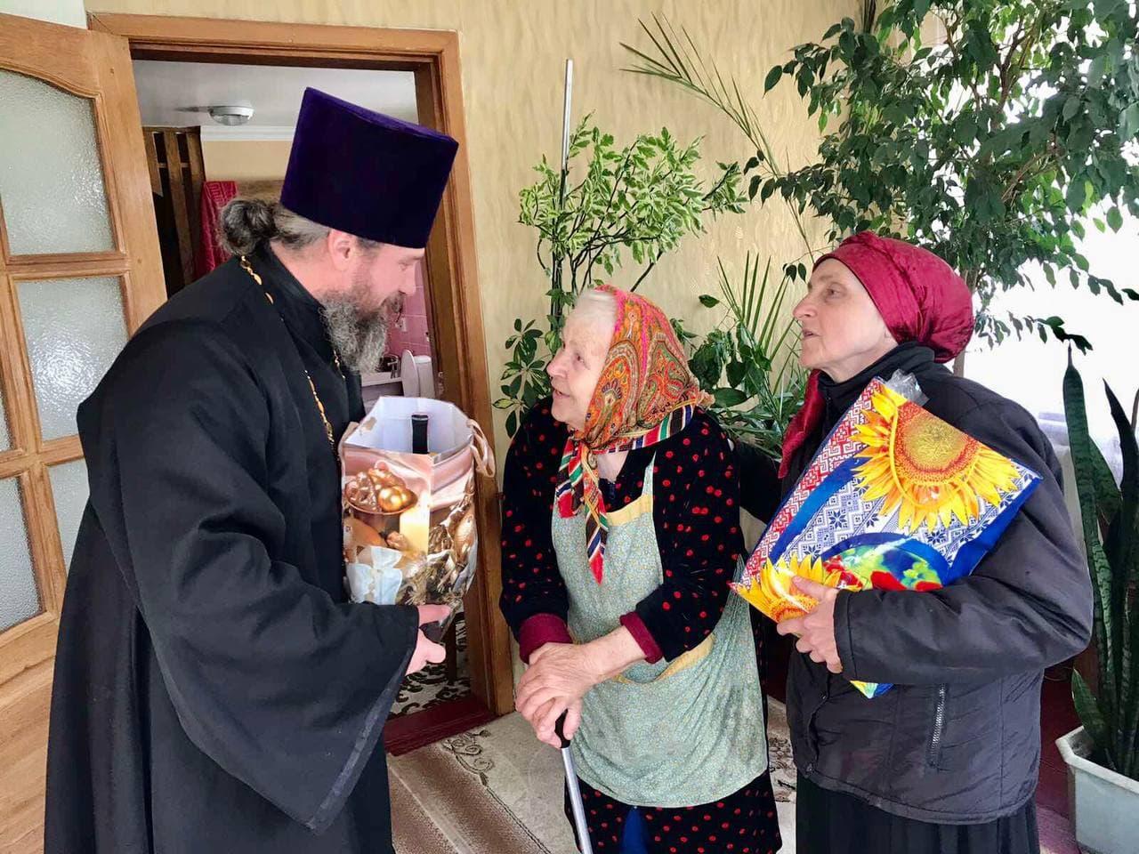 Черкасская епархия поздравила детей войны с  Днём Победы