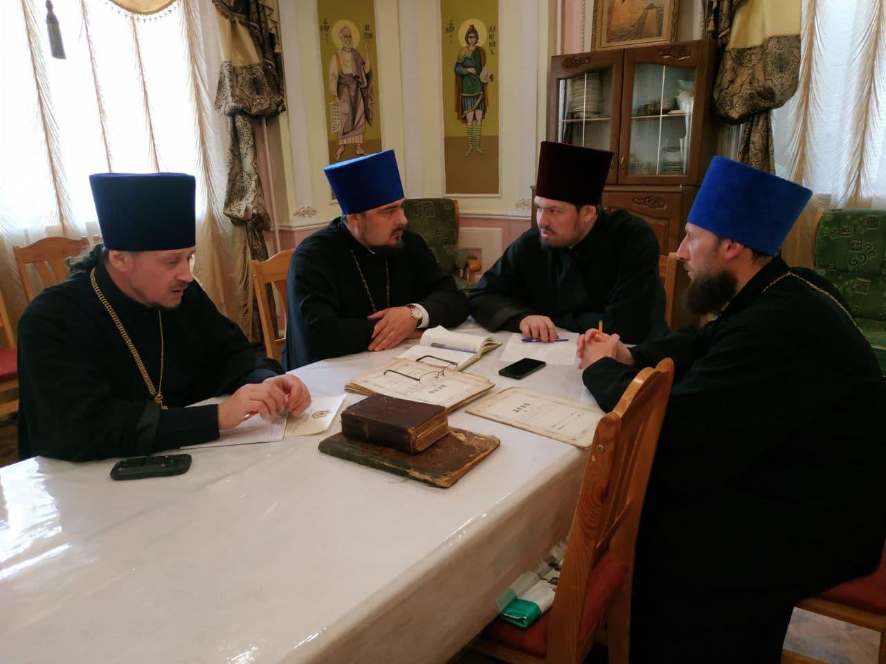 Состоялось заседание Исторического отдела Черкасской епархии