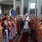 Архієпископ Феодосій звершив освячення престолу у боковому приділі Свято-Успенського собору м.Золотоноша