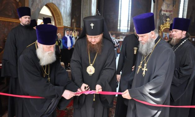 В Черкасской епархии открылась выставка епархиальной иконописной школы-мастерской