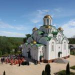 Архієпископ Феодосій очолив престольне свято у скиту Покровського Красногірського монастиря