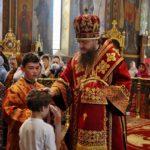 Архієпископ Черкаський і Канівський Феодосій звершив всенічне бдіння напередодні Неділі 4-ї після Пасхи