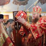 Архієпископ Феодосій очолив перше архієрейське богослужіння у храмі з понад 60-річною історією