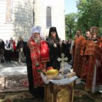 Митрополит Дніпропетровський Іриней звершив панихиду на могилі митрополита Черкаського і Канівського Софронія
