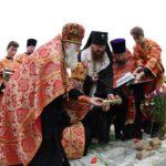 Архієпископ Черкаський і Канівський Феодосій заклав будівництво нового храму на місці історичного, що був знищений пожежею